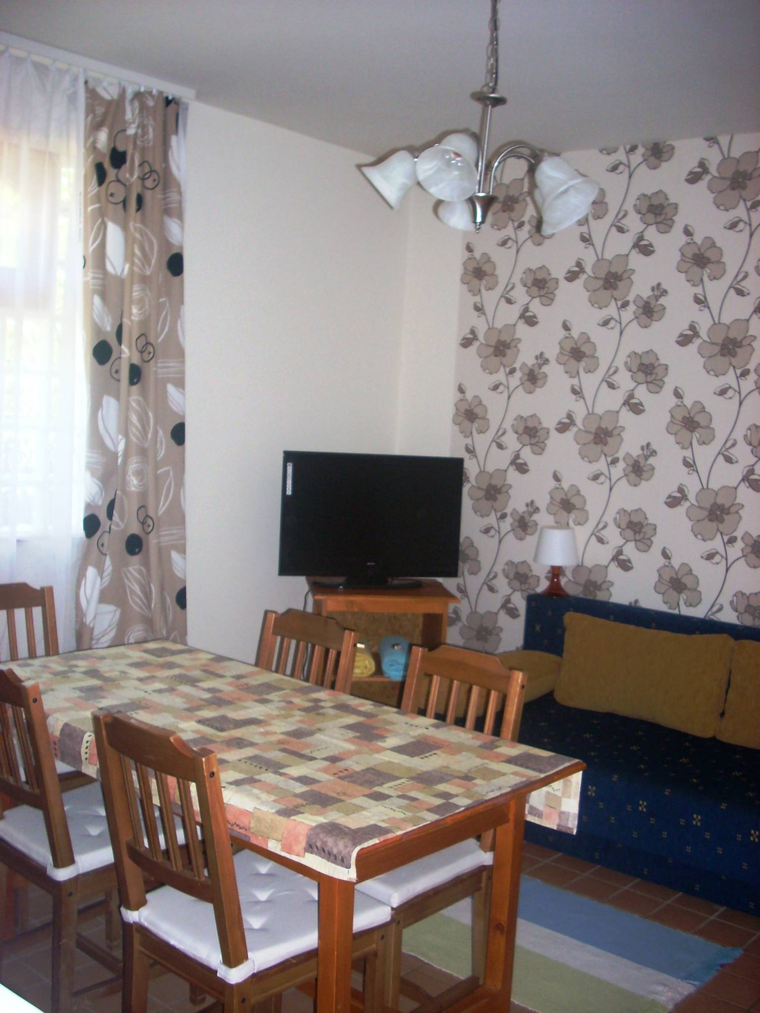 Borostyn Apartmanhz Abdszalk - 4.apartman nappali-tkez