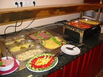 Hotel Happy Apartments Budapest - Buffet