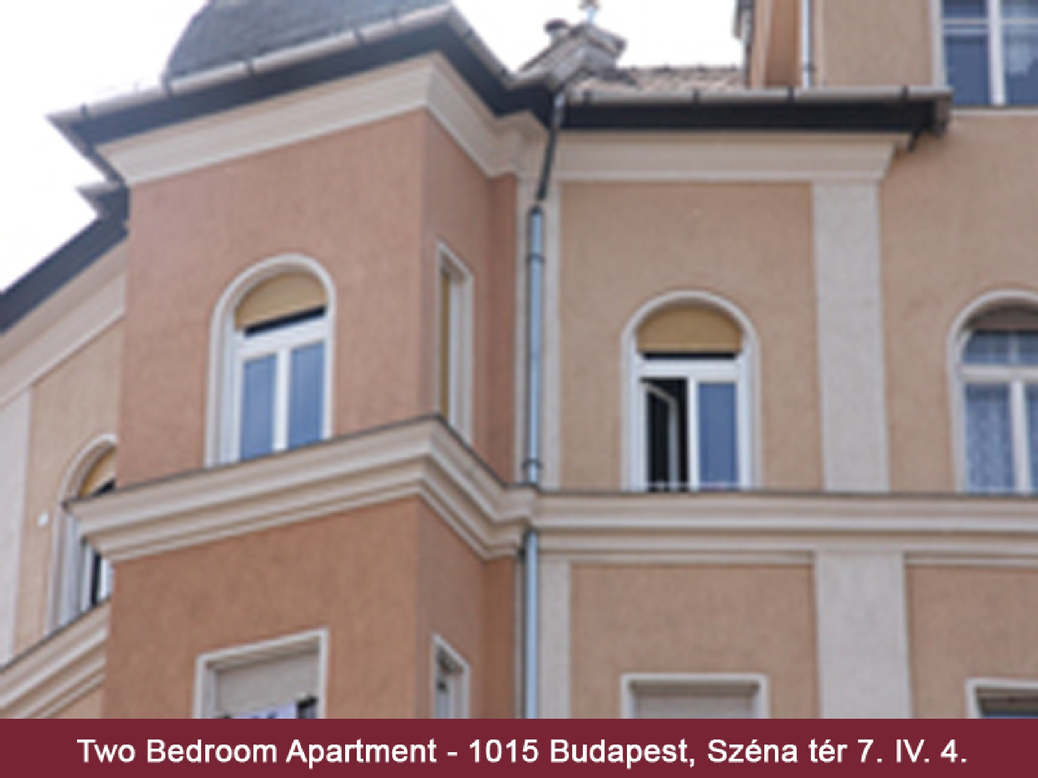 Dream Homes City Apartment Széna Budapest - Homlokzat